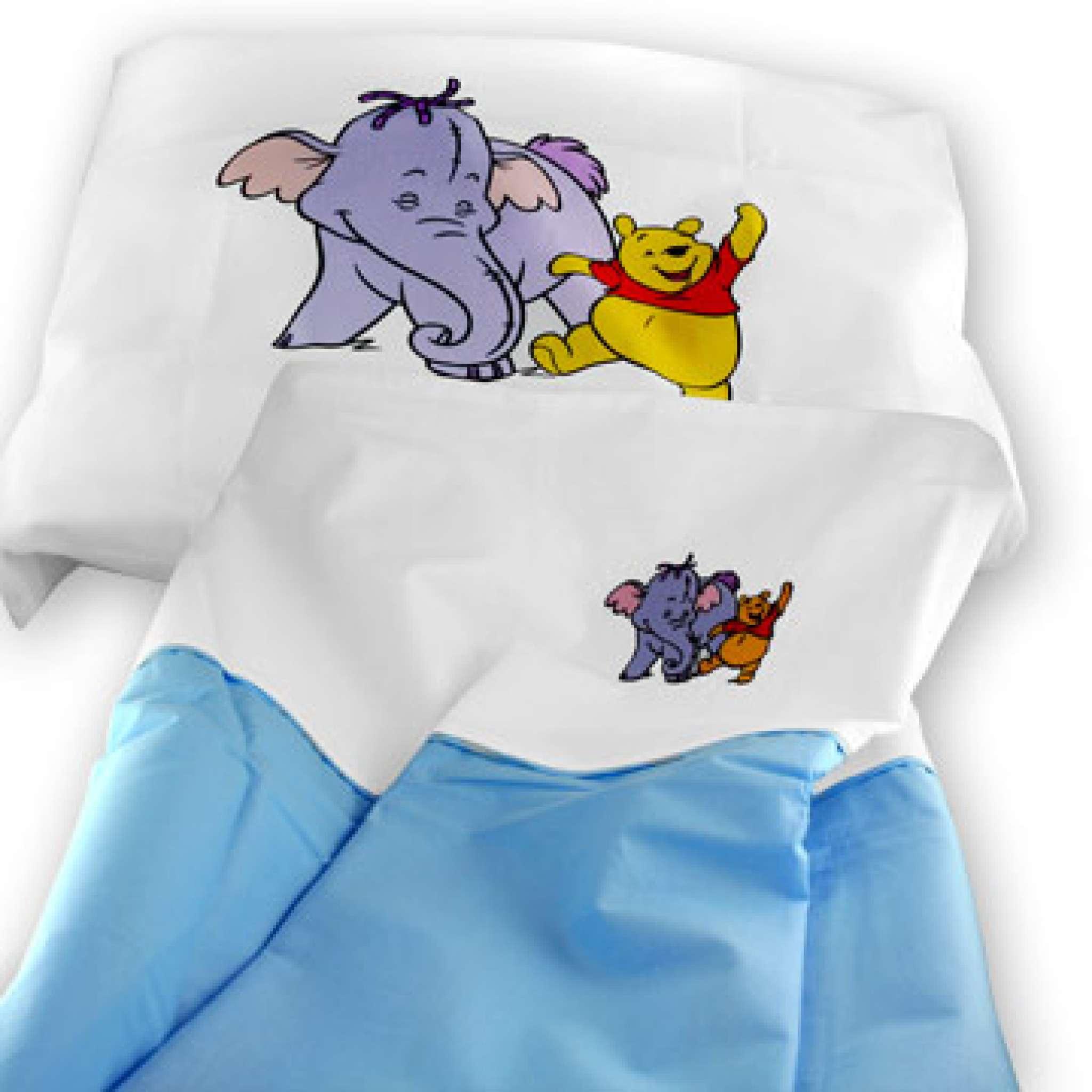 Disney sengesett baby Ole Brumm 80x100 cm