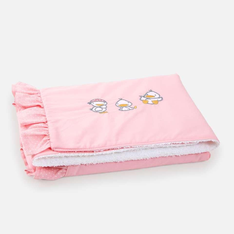 Ducks Pink Babyteppe